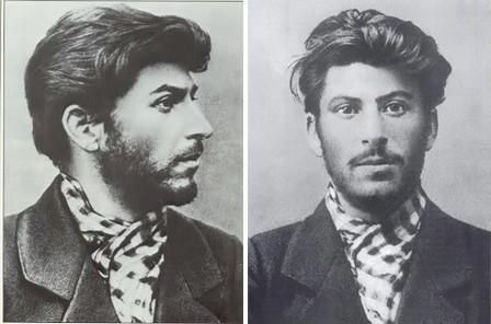 Links de jonge Stalin op Etty Hillesums kamer