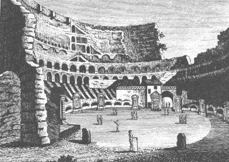 Het Colosseum blijft overeind