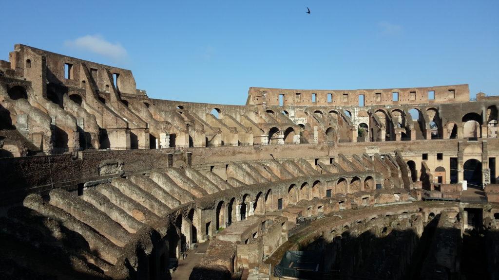 Een leeg Colosseum betreden: gelukt!