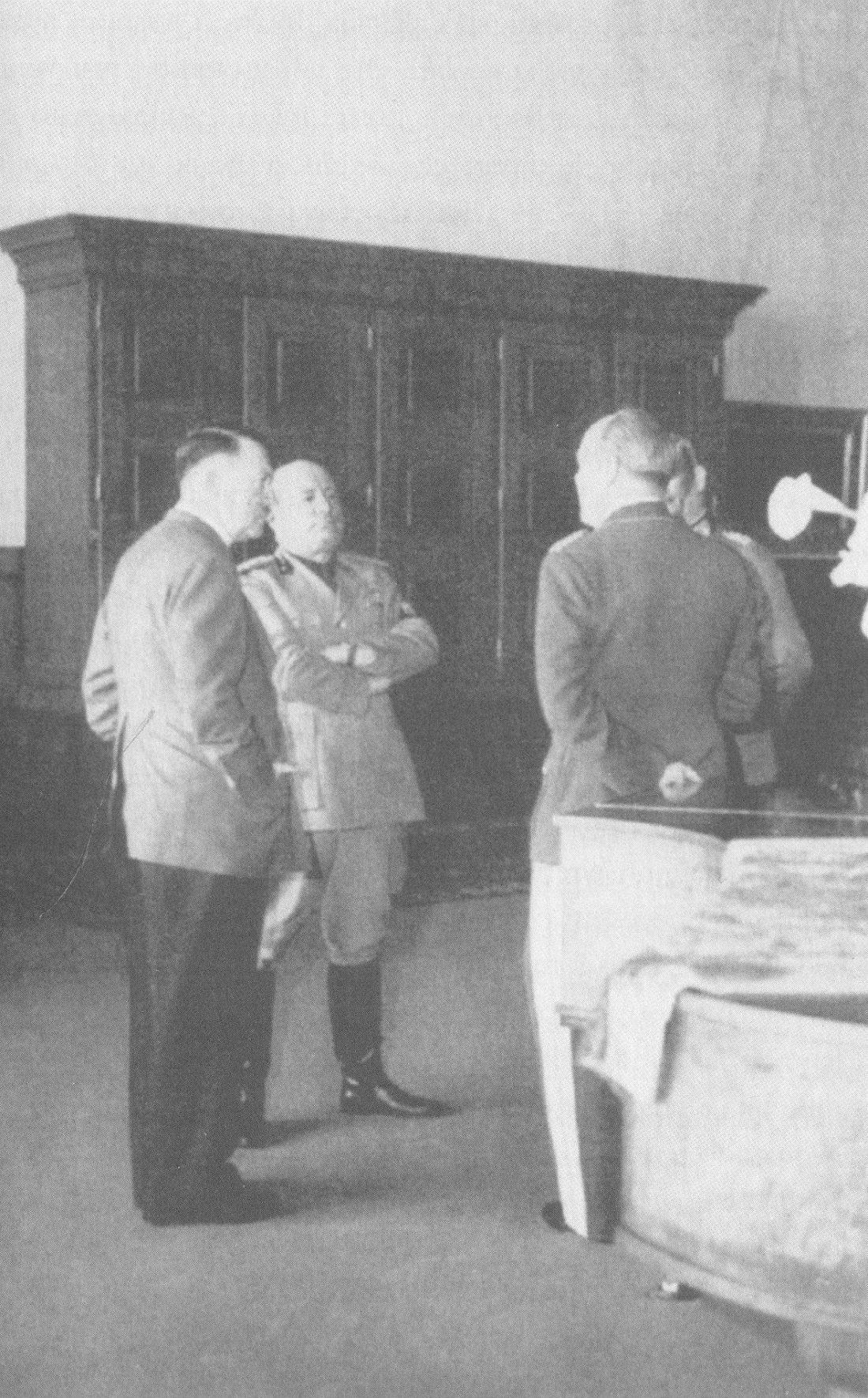 Albert Kesselring in Sant'Oreste en locale geschiedenis