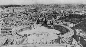 La Spina gezien vanuit het Vatikaan