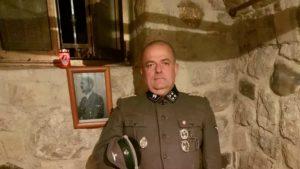 Friulaans gemeenteraadslid in SS uniform