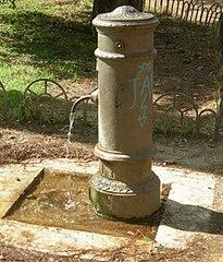 Er zijn in Rome onveer 2500 nasoni fonteinen.