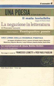 Amelia Rosselli over Pasolini... in een gesprek
